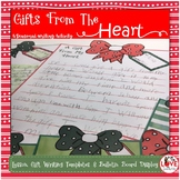 Gifts From The Heart Writing Activity