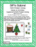 Gifts Galore: Christmas Theme Hands-on Math Story-Problem Activities