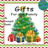 Gifts for the Family CHRISTMAS Emergent Predictable Reader