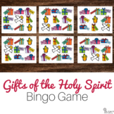 Gifts of the Holy Spirit Bingo Game: No Prep Catholic Activity