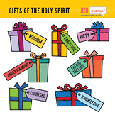 Gifts of the Holy Spirit Clip Arts