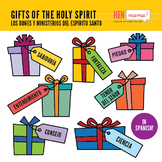Gifts of the Holy Spirit Clip Arts - IN SPANISH!
