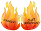 Gifts of the Holy Spirit on flames