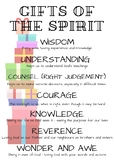 Gifts of the Spirit (Confirmation) Religious Education