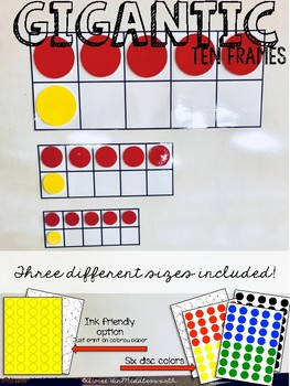 Gigantic Math Manipulatives: Ten Frames