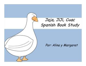 Giggle Giggle/ Jiji Jaja Book study in Spanish