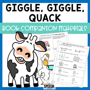 Giggle Giggle Quack Speech & Language Book Companion