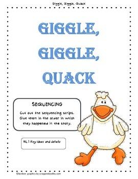 Giggle, Giggle Quack - Story Study
