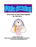Giggle Poetry to Teach Vowel Diagraphs