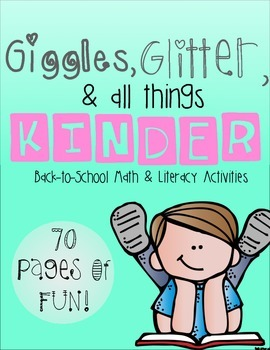 Giggles Glitter & all Things KINDER: Back to School Activi