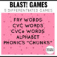 Giggles! Phonics and Sight Word Blast Game