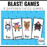 Blast Games Sight Words and Phonics