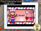 Giggly Games A Clever Cookie Number Words GOOGLE SLIDES Di