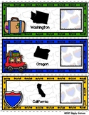 Giggly Games Across America Western States and Capitals En