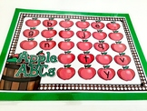 Giggly Games Apple Missing ABCs Activity Dry Erase Mat