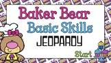 Giggly Games Baker Bear Basic Skills Jeopardy Powerpoint I