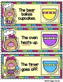 Giggly Games Baker Bear Noun or Verbs Envelope Center