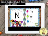 Giggly Games Balloon Buddies Alphabet Book GOOGLE SLIDES D