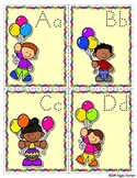 Giggly Games Balloon Buddies Alphabet Handwriting Flip Book