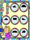 Giggly Games Balloon Buddies Half Shape Match Matching Mat