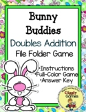 Giggly Games Bunny Buddies Doubles Addition File Folder Game