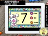 Giggly Games Bunny Buddies Words to 12 Interactive Game GO