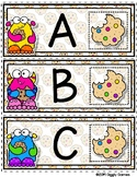 Giggly Games Cookie Critters Alphabet Envelope Center
