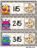 Giggly Games Cookie Critters Quarter Past the Hour Envelop