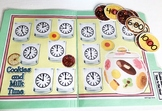 Giggly Games Cookies and Milk Time to the Hour File Folder Game