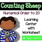 Giggly Games Counting Sheep to 20 Missing Numbers Learning
