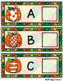 Giggly Games Fabulous Fall Alphabet Envelope Center