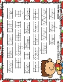 Giggly Games Fall Cider Dotted Line Letter Alphabet Practi