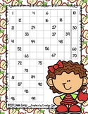 Giggly Games Fall Fun Counting to 100 Practice Mat Dry Erase