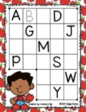 Giggly Games Fall Fun Uppercase Missing Letters Dry Erase