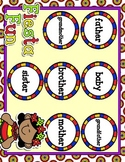 Giggly Games Fiesta Fun Spanish Family Words Matching Mat