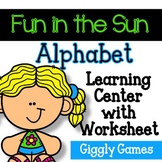 Giggly Games Fun in the Sun Alphabet Learning Center with
