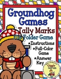 Giggly Games Groundhog Games Tally Marks File Folder Game