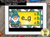 Giggly Games Hocus Pocus Missing Letters GOOGLE SLIDES Dis