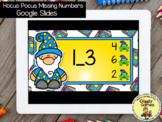 Giggly Games Hocus Pocus Missing Numbers GOOGLE SLIDES Dis