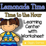 Giggly Games Lemonade Time Time to the Hour Learning Cente