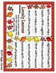 Giggly Games Lovely Leaves Ordinal Number Words Activity Dry Erase Mat