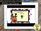 Giggly Games Reindeer Games CVC Words Unscramble BOOM Card