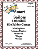 Giggly Games Smart Sailors Basic Skills File Folder Games