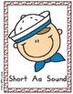 Giggly Games Smart Sailors Vowel Sounds File Folder Games