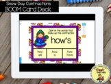 Giggly Games Snow Day Contractions BOOM Card Deck