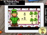 Giggly Games St. Patricks Doubles Addition GOOGLE SLIDES D