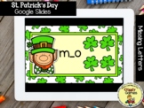 Giggly Games St. Patricks Missing Letters GOOGLE SLIDES Di