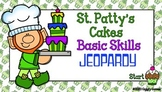 Giggly Games St. Patty's Cakes Basic Skills Jeopardy Power