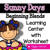 Giggly Games Sunny Days Beginning Blends Learning Center w