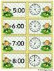 Giggly Games Sunny Shamrocks Telling Time Envelope Center